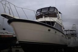 1978 Hatteras 37 Double Cabin Flybridge