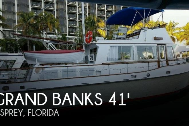 1972 Grand Banks 42 Classic - For Sale at Osprey, FL 34229 - ID 110575