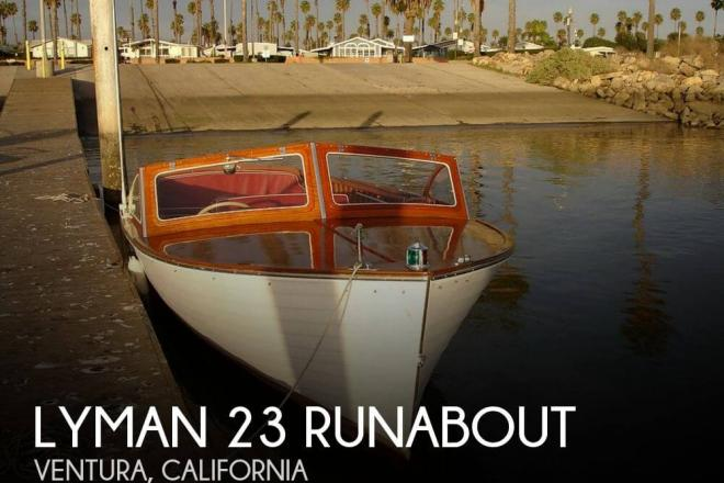 1957 Lyman 23 Runabout - For Sale at Ventura, CA 93001 - ID 100362