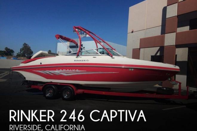 2008 Rinker 246 Captiva - For Sale at Riverside, CA 92501 - ID 75618