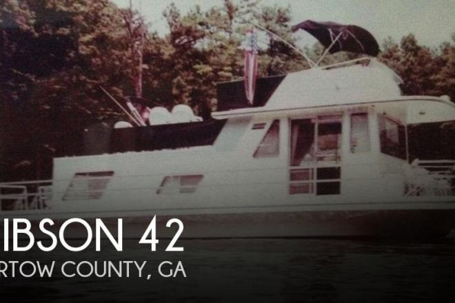 1984 Gibson 42 - For Sale at Cartersville, GA 30120 - ID 70946