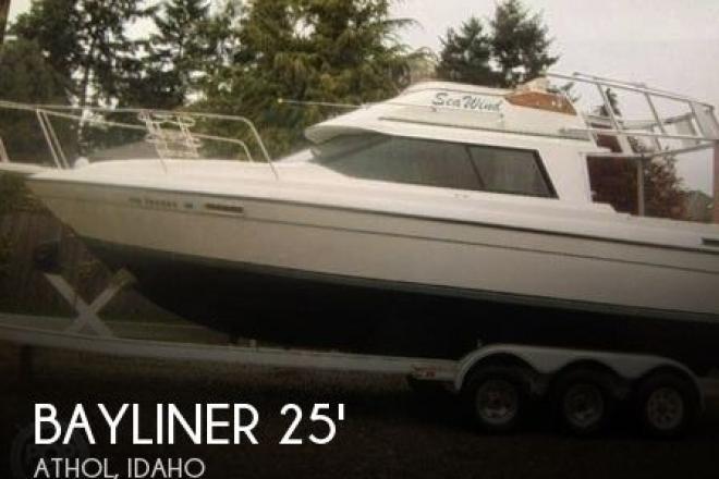 1991 Bayliner 2556 Ciera Command Bridge - For Sale at Athol, ID 83801 - ID 73623