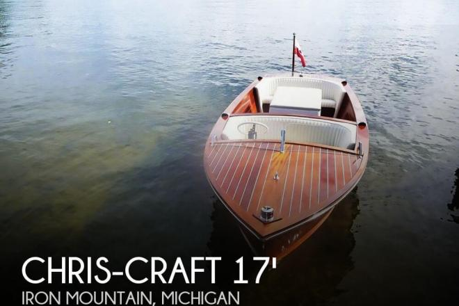 1957 Chris Craft 17 Cavalier - For Sale at Iron Mountain, MI 49801 - ID 72961