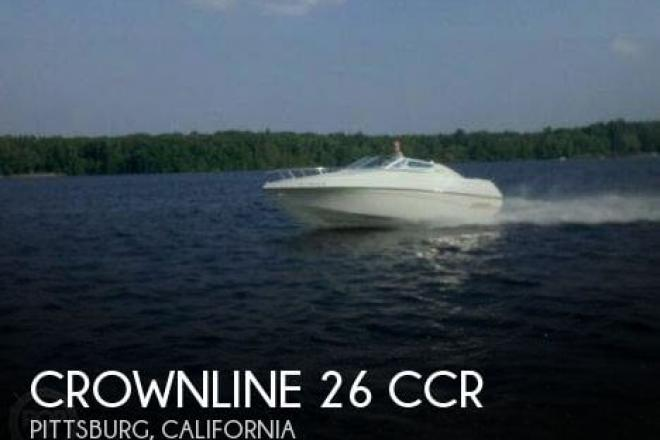 1995 Crownline 26 CCR - For Sale at Pittsburg, CA 94565 - ID 44603