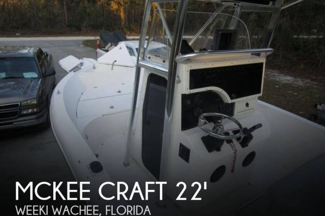 2003 Mckee Craft 22 Run Away - For Sale at Weeki Wachee, FL 34606 - ID 110594
