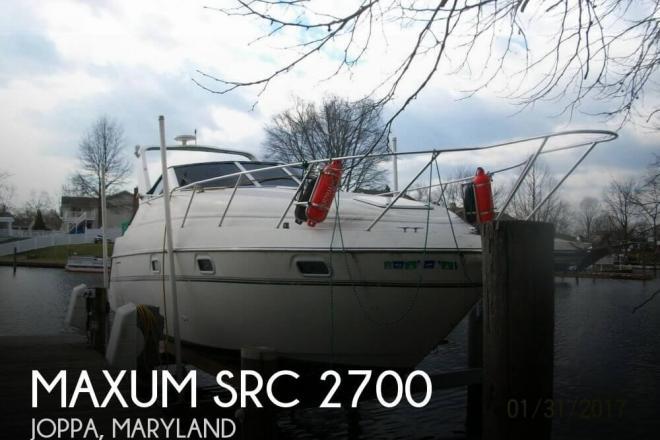 1996 Maxum 2700 SRC - For Sale at Joppa, MD 21085 - ID 110553