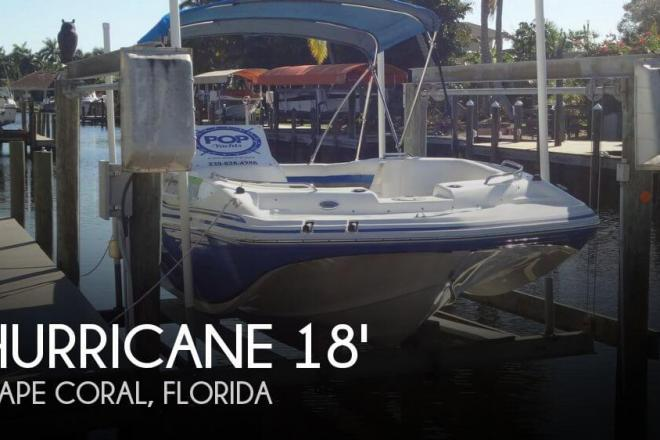 2013 Hurricane 188 SunDeck Sport - For Sale at Cape Coral, FL 33990 - ID 111162