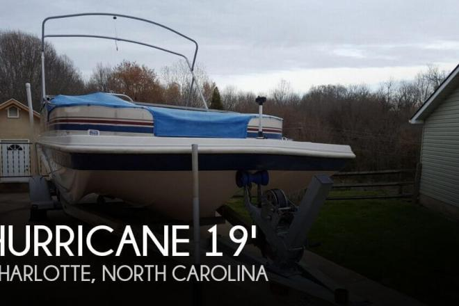 2003 Hurricane 198RE Fun Deck - For Sale at Charlotte, NC 28205 - ID 109923