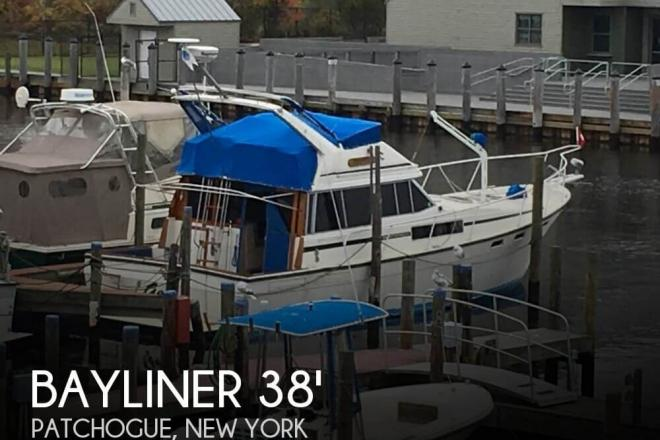1986 Bayliner 3870 Motoryacht - For Sale at Patchogue, NY 11772 - ID 109736