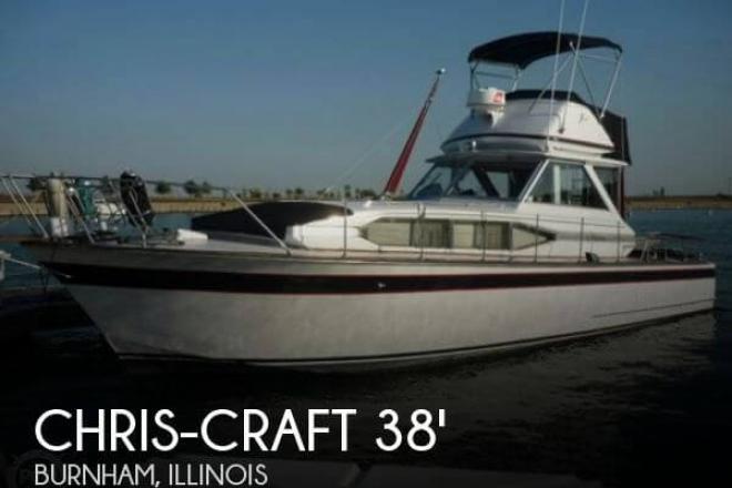 1969 Chris Craft 38 Riveria - For Sale at Burnham, IL 60633 - ID 109665