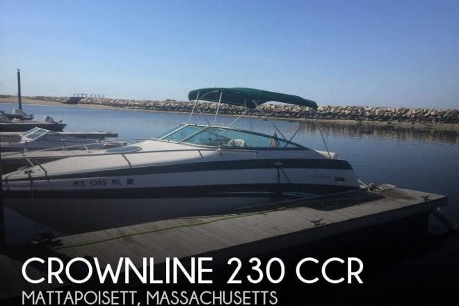 2002 Crownline 230 CCR - For Sale at Mattapoisett, MA 2739 - ID 111166
