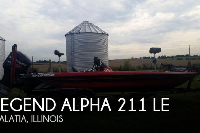 2013 Legend ALPHA 211 LE - For Sale at Galatia, IL 62935 - ID 106182