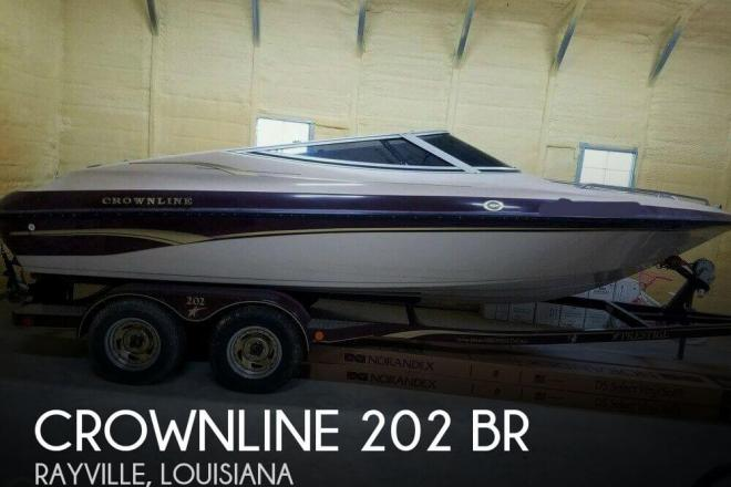 2001 Crownline 202 BR - For Sale at Rayville, LA 71269 - ID 111385
