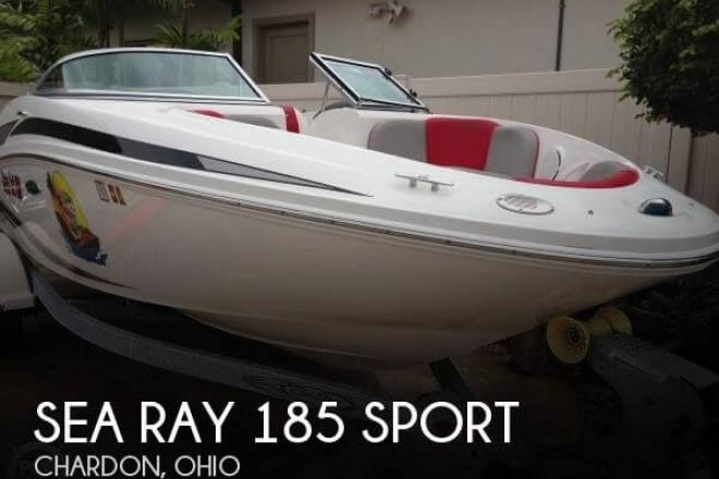 2011 Sea Ray 185 Sport - For Sale at Chardon, OH 44024 - ID 111277