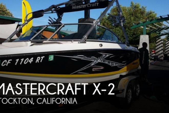 2007 Mastercraft X-2 - For Sale at Stockton, CA 95201 - ID 109880