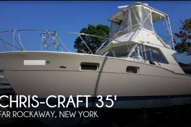 1970 Chris Craft 35 Commander - For Sale at Far Rockaway, NY 11690 - ID 104253