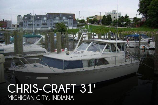 1971 Chris Craft Commander 31 - For Sale at Michigan City, IN 46360 - ID 111319