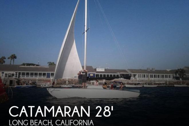 2010 Custom Built 28 Catamaran - For Sale at Long Beach, CA 90801 - ID 101854
