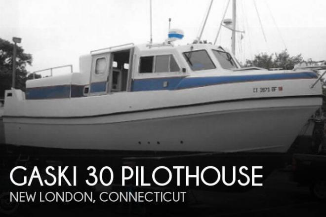 2002 Gaski 30 Pilothouse - For Sale at New London, CT 6320 - ID 98617