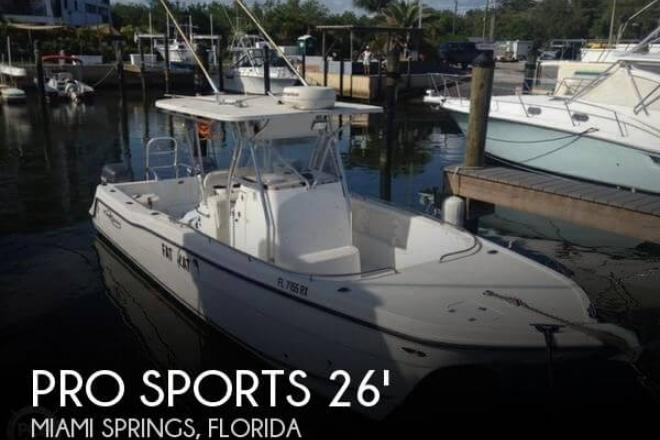2004 Pro Sport 2660 Prokat CC - For Sale at Miami, FL 33177 - ID 98665