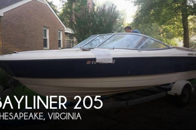 2003 Bayliner 205 - For Sale at Chesapeake, VA 23320 - ID 101316