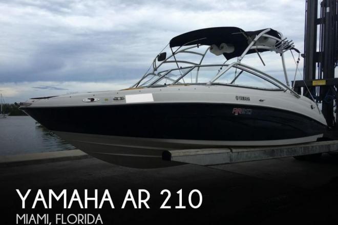 2007 Yamaha AR 210 - For Sale at Miami, FL 33177 - ID 100451