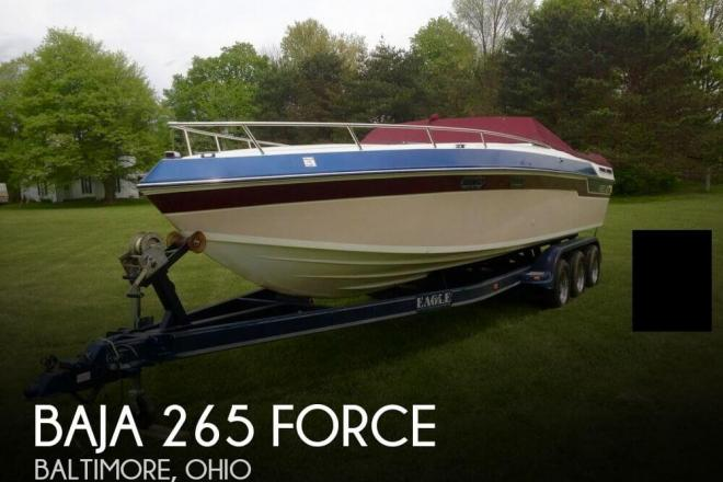 1987 Baja 265 Force - For Sale at Baltimore, OH 43105 - ID 98759