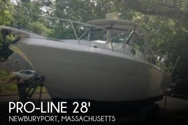1987 Pro Line 28 Offshore Walkaround - For Sale at Newburyport, MA 1950 - ID 95691