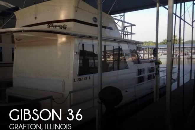 1988 Gibson 36 - For Sale at Grafton, IL 62037 - ID 94395