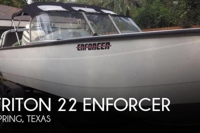 2005 Triton 22 ENFORCER - For Sale at Spring, TX 77373 - ID 94298