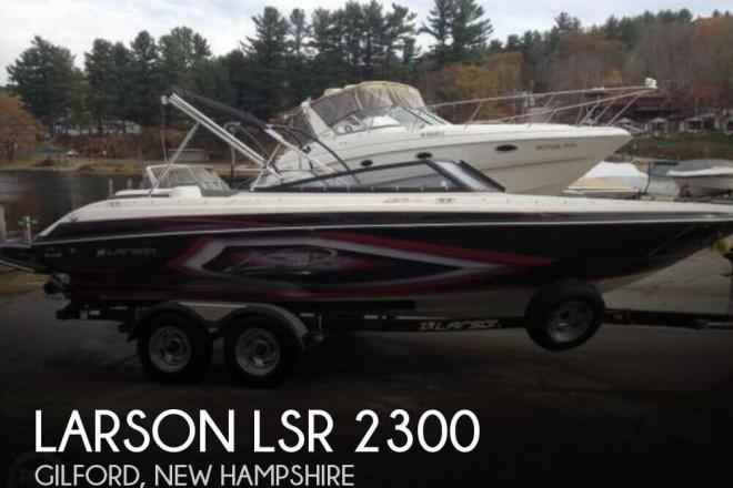 2013 Larson LSR 2300 - For Sale at Gilford, NH 3249 - ID 96851
