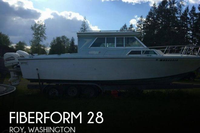 1972 Fiberform 28 - For Sale at Roy, WA 98580 - ID 95207