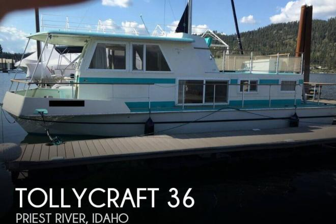 1971 Tollycraft 36 TOLLYHOME - For Sale at Rathdrum, ID 83858 - ID 82172