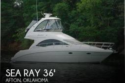 2007 Sea Ray 36 Sedan Bridge