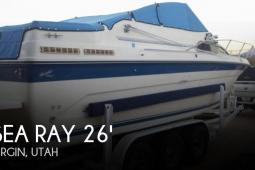 1989 Sea Ray 268 Sundancer