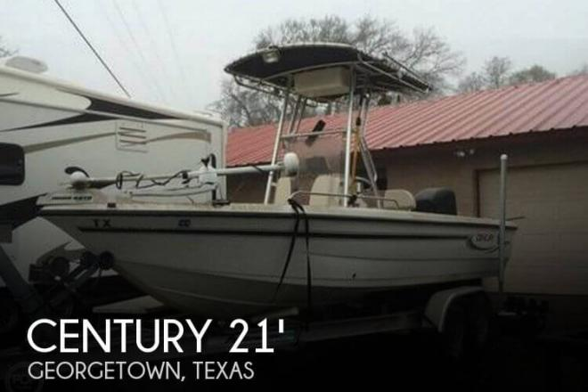 2004 Century 2101 CC Bay Boat - For Sale at Georgetown, TX 78626 - ID 77347