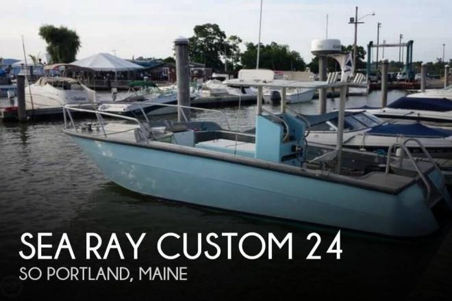 1973 Sea Ray Custom 24 - For Sale at South Portland, ME 4106 - ID 77280