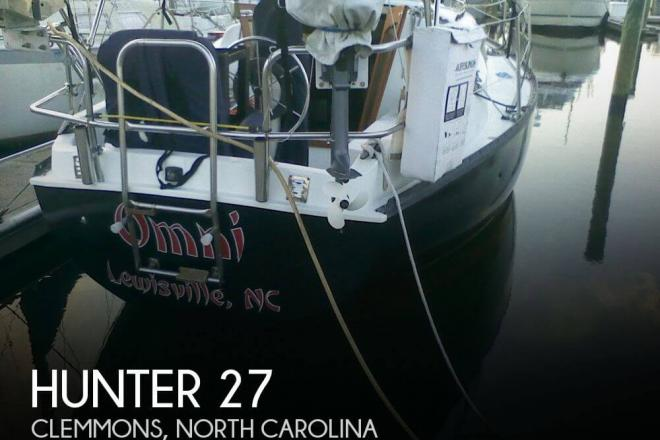 1981 Hunter 27 - For Sale at Clemmons, NC 27012 - ID 75823