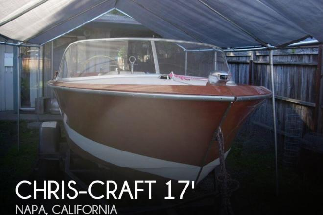 1963 Chris Craft 17 Custom Ski - For Sale at Napa, CA 94581 - ID 75560
