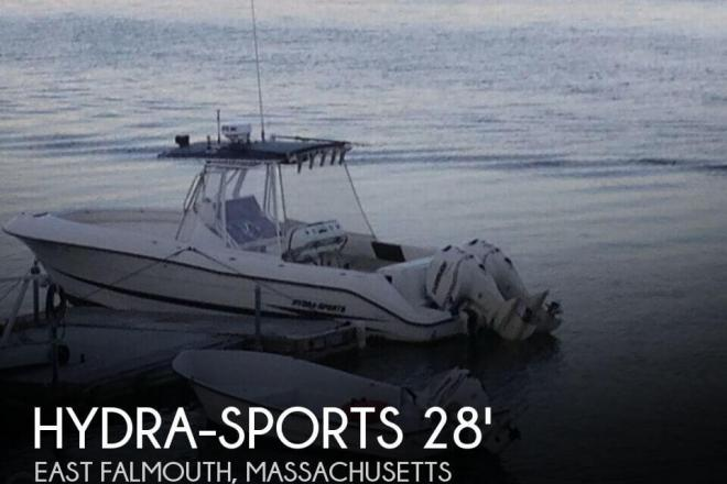 2001 Hydra Sports VECTOR 2796CC - For Sale at East Falmouth, MA 2536 - ID 75273