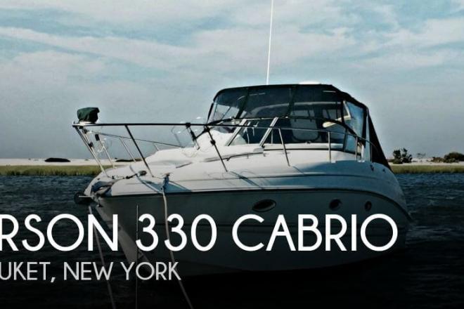 2001 Larson 330 Cabrio - For Sale at Setauket, NY 11733 - ID 74719