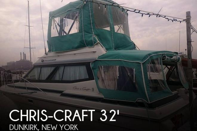 1988 Chris Craft Amerosport 320 - For Sale at Dunkirk, NY 14048 - ID 74845