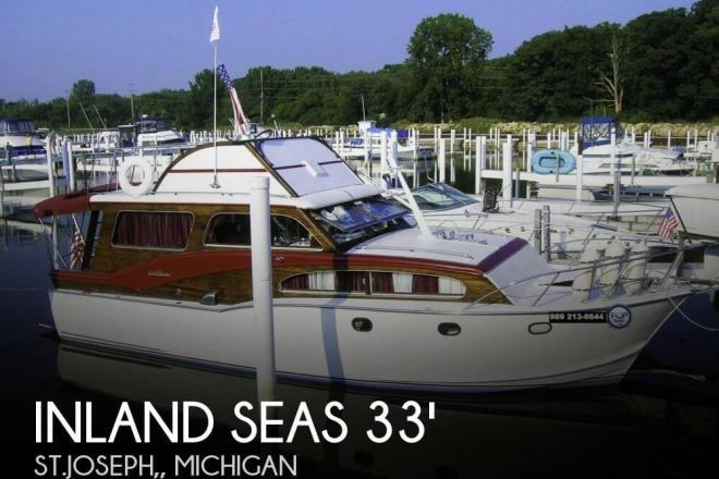 1961 Inland Seas 3306 STEEL CLIPPER - For Sale at Benton Harbor, MI 49022 - ID 74115