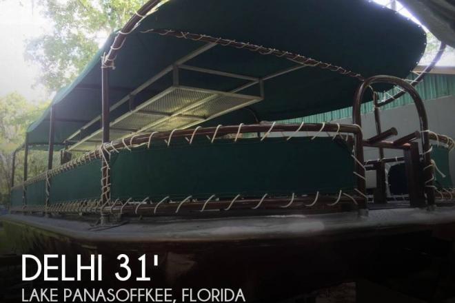 1965 Delhi Glass Bottom Tour Boat - For Sale at Lake Panasoffkee, FL 33538 - ID 73629
