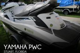 2015 Yamaha Waverunner FX SVHO Cruiser