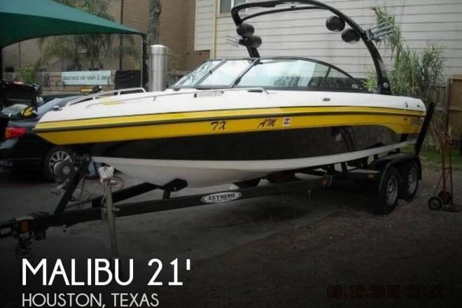 2007 Malibu 21 V-Ride XXL Edition - For Sale at Houston, TX 77001 - ID 72168