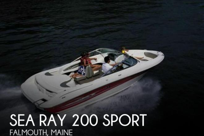 2005 Sea Ray 200 Sport - For Sale at Falmouth, ME 4105 - ID 72406