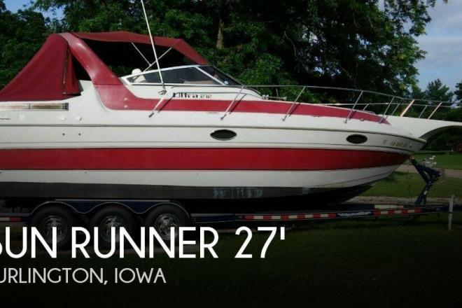 1988 Sun Runner 272 Ultra Cruiser - For Sale at Burlington, IA 52601 - ID 72534