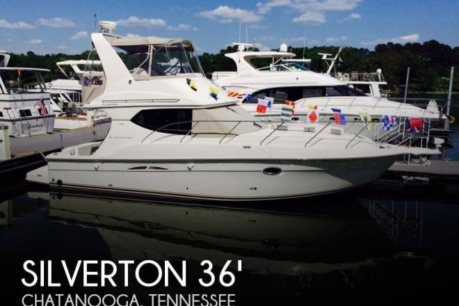 2007 Silverton 36 Convertible - For Sale at Chattanooga, TN 37416 - ID 71304