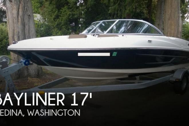 2014 Bayliner 175 Runabout - For Sale at Bellevue, WA 98004 - ID 69828